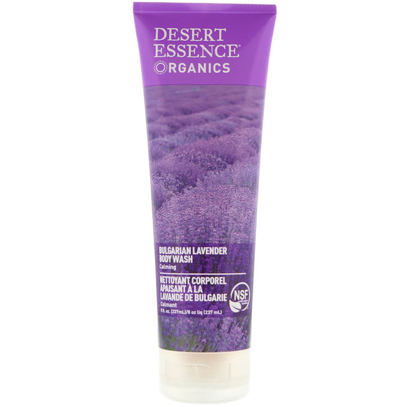 Desert Essence Organics Bulgarian Lavender Body Wash 8oz