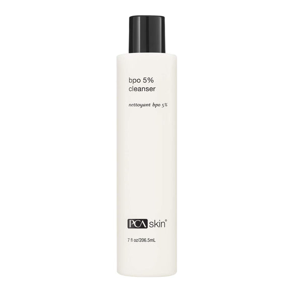 PCA SKIN BPO 5% Cleanser Clarifying Daily Facial Wash, 7 Fl oz
