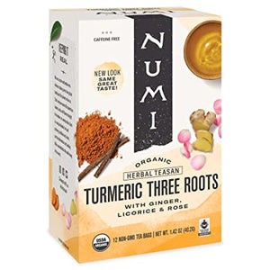 NUMI Organic Tea Tumeric Three Roots