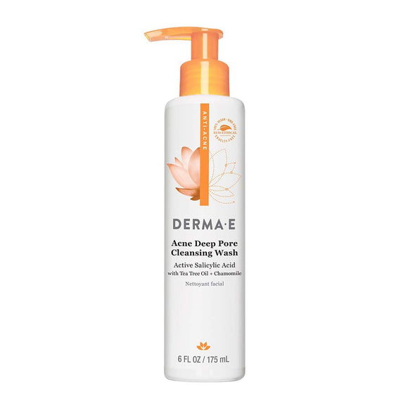 Dermae Acne Deep Pore Cleansing Wash 6oz