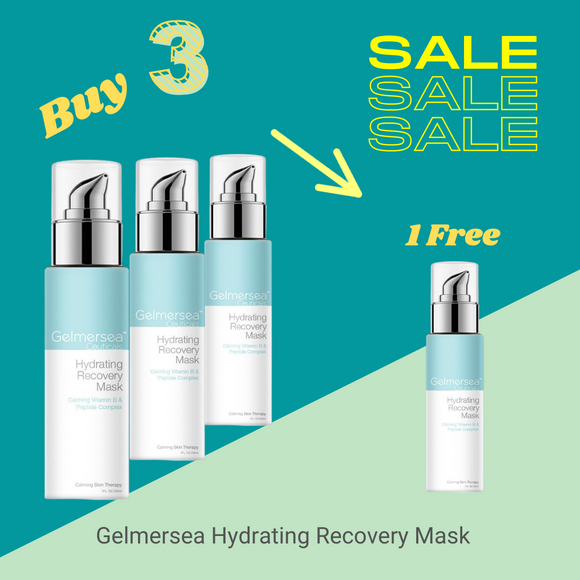 Gelmersea Hydrating Recovery Mask  7 fl oz / 200 ml Salon Size - Buy 3 Get 1 Free