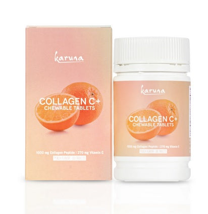 Karuna Collagen C+ Chewable Tablets 60 Tablets