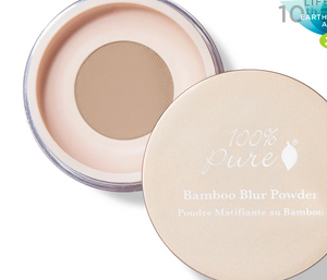 100% Pure: Bamboo Blur Powder Light 0.2 oz / 5.5 g