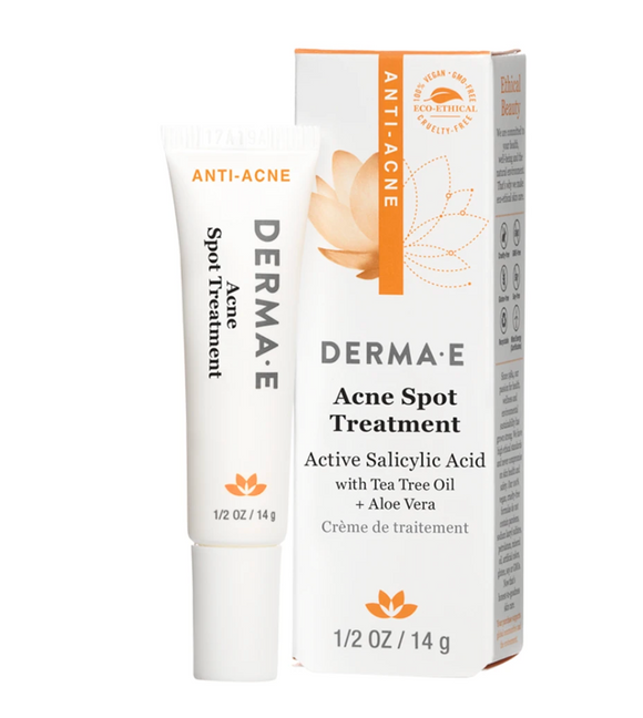 Dermae Acne Spot Treatment with 2% Salicylic Acid & Blemish Complex 0.5oz