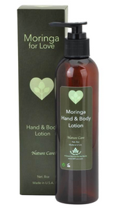 Moringa For Love: Moringa Hand & Body Lotion 8oz