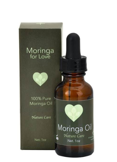 Moringa For Love: Cold Press Moringa Oil 1oz