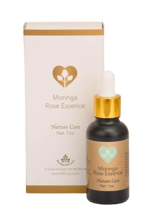 Moringa for Love: Moringa Rose Essence 1oz