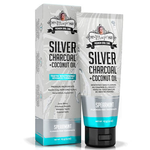 My Magic Mud Spearmint Silver-Charcoal™ Whitening Toothpaste