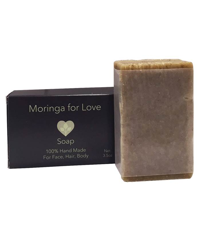 Moringa For Love Soap Organic