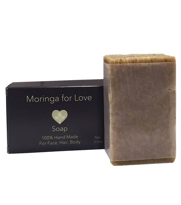 Moringa For Love: Moringa Soap 3.5oz