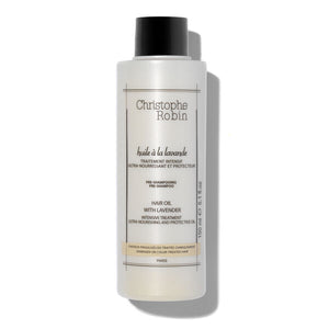 Christophe Robin: Pre-Shampooing Hair Oil with Lavender 150mL