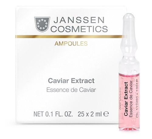 Janssen Cosmetics: CAVIAR EXTRACT 25x2mL