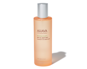 Ahava Dry Oil Body Mist- Mandarin & Cedarwood 3.4oz
