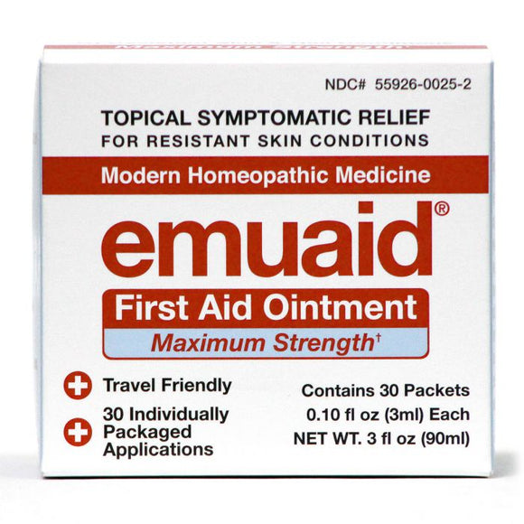 EmuaidMAX 30 Day Travel Pack