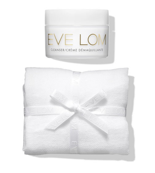 Eve Lom Best Seller Pack of 2 (EVE LOM's iconic Cleanser and Muslin Cloth, EVE LOM Multi-Mask Ornament)