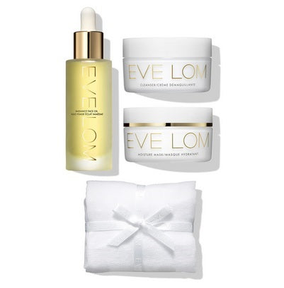 Eve Lom Radiance Set ( Radiance Face Oil, Cleanser, Rescue Mask )