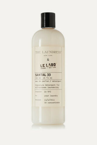 The Laundress Le Labo Santal 33 Detergent 33 oz