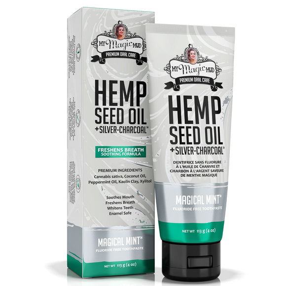 My Magic Mud  Magical Mint Hemp Oil Soothing Toothpaste