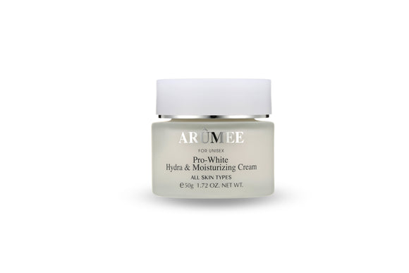 Arumee Pro-White Hydra & Moisturizing Cream 1.72 oz
