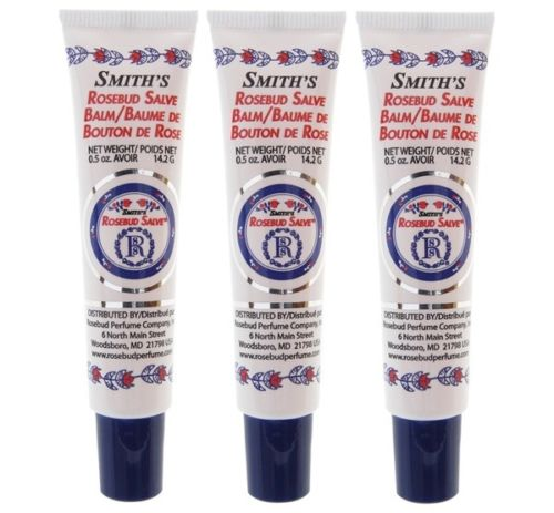 Smith's Rosebud Salve Tube Pack of 3 (Original)