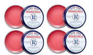 Rosebud Salve Original Tin Pack of 4