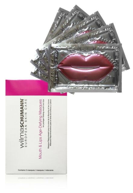 Wilma Schumann European Skin Care Mouth and Age-Defying Masques, 5 Masques