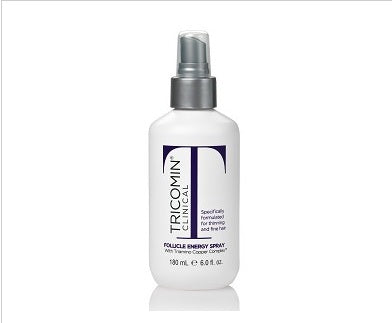 Neova Tricomin Clinical Follicle Energy Spray (specially formulated for thinning and fine hair) 6oz