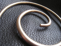Mega Galaxy Solid Bronze Spiral Heavy Weight Large Shawl Pin