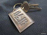 CUSTOM Keyring Keychain Keyfob in Bronze and Brass - Design process and multiples - EXAMPLE