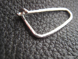 IBBB Sterling Silver Hand Hammered Kilt Shawl Sweater Safety Pin