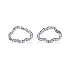 Cloud Stud Earrings