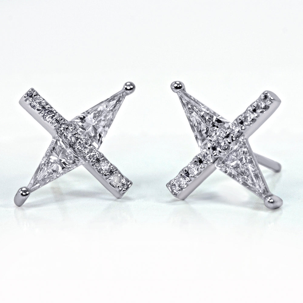 "Spiculum™ ""X"" Earrings"