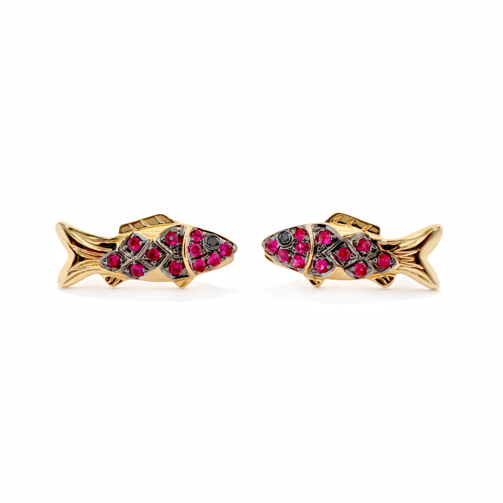 Gummy Fish Stud Earrings