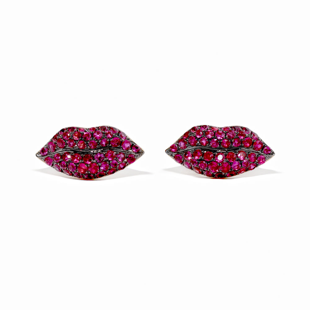 Gummy Lip Stud Earrings