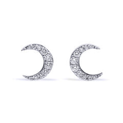 La Luna Stud Earrings