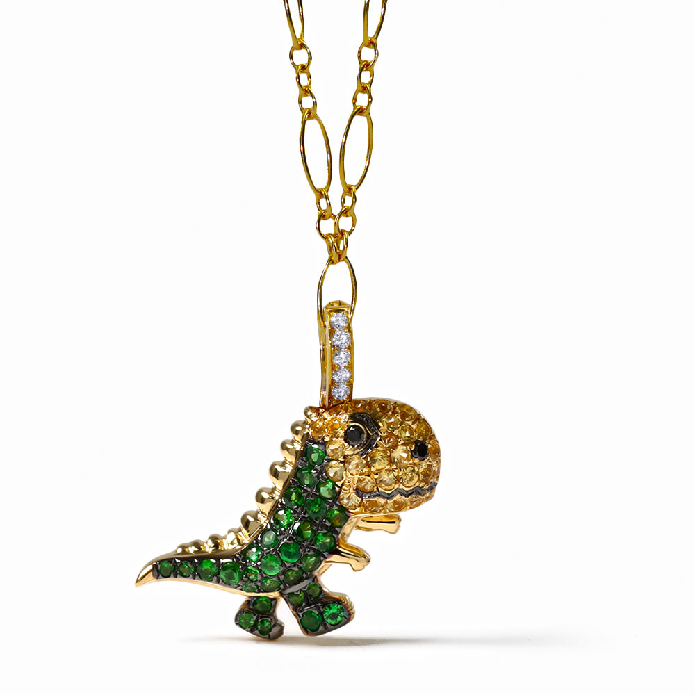 Gummy Dino Clip-On Charm