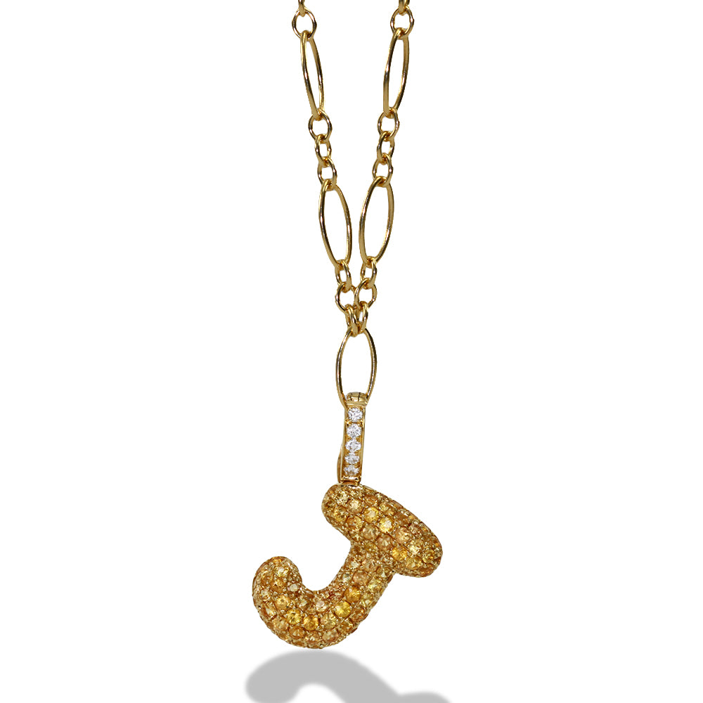 "Gummy Letter ""J"" Clip-On Charm"