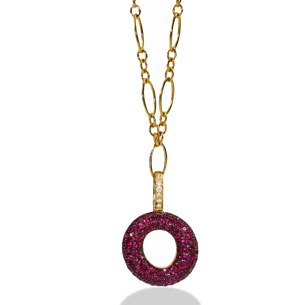 "Gummy Letter ""O"" Clip-On Charm"