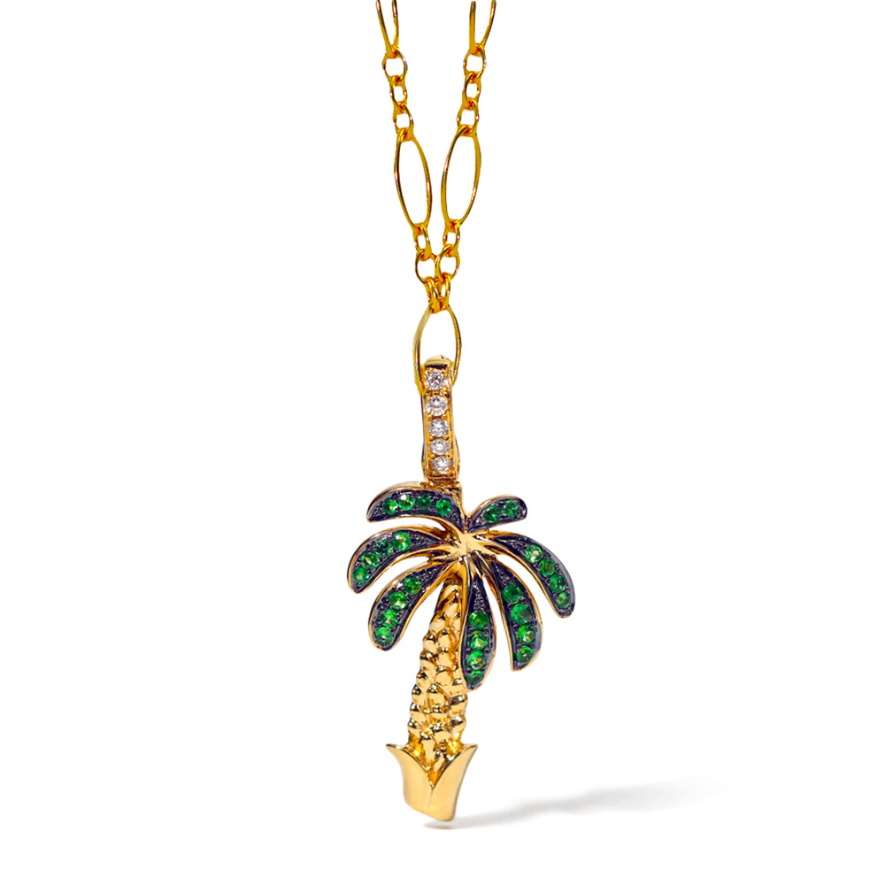 Palm Tree Clip-On Charm