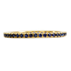 Yellow Gold,Blue Sapphire