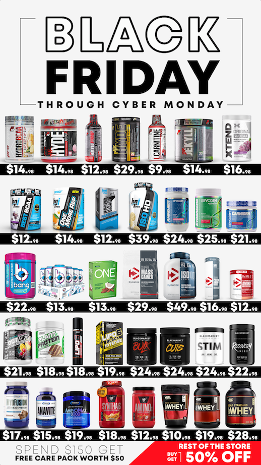 BLACK FRIDAY THROUGH CYBER MONDAY STEALS!!