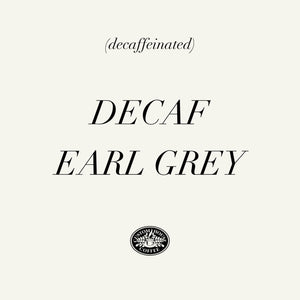 Decaf Earl Grey Loose Leaf Tea