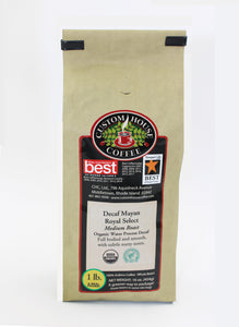 Organic Decaf Mayan Royal Select