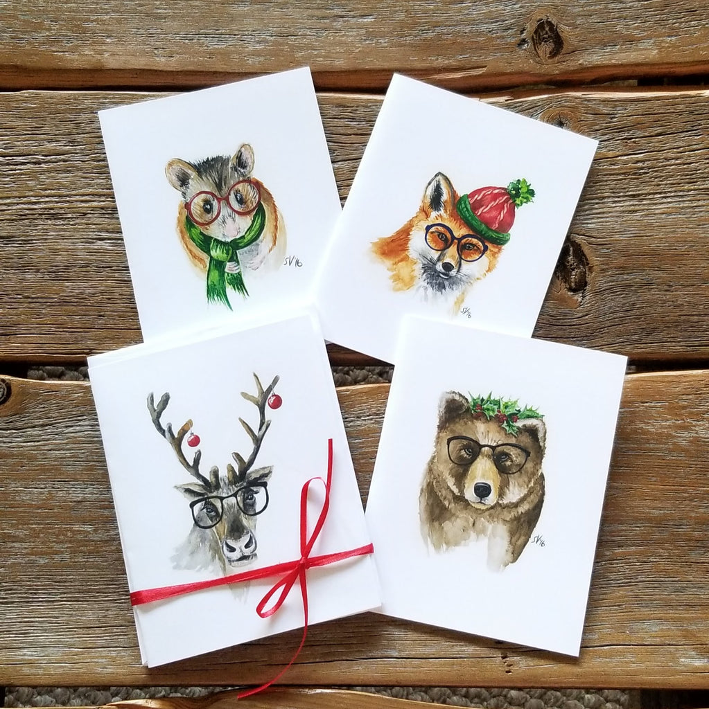 Hipster Holiday Notecards