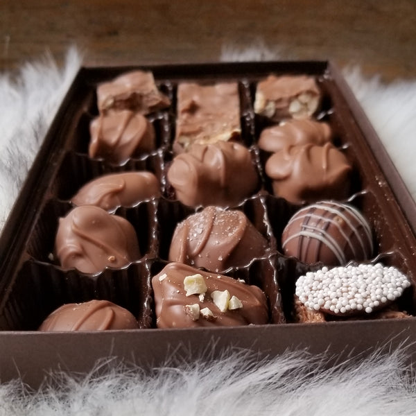 Chocolate Assortment 1/2 Pound Gift Box