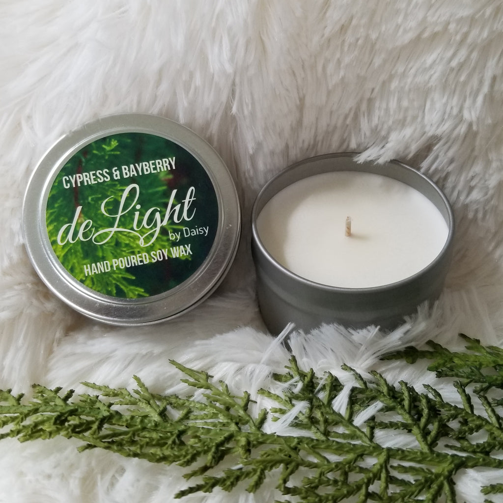 Cypress & Bayberry Delight Candle