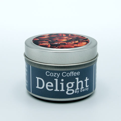 Cozy Coffee Delight Candle