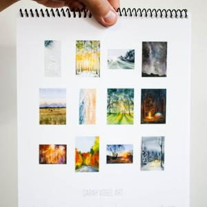 2021 Watercolor Scenes Calendar