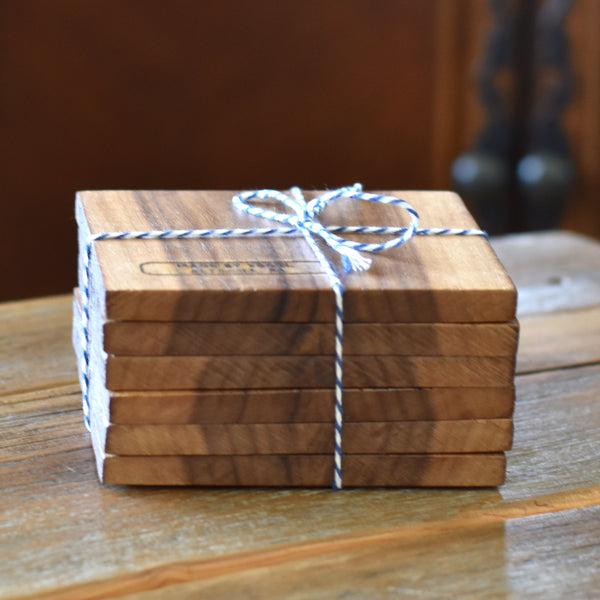 Hand Crafted Hardwood Coasters
