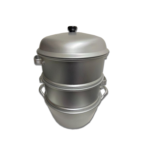 4PC Aluminum Steamer/Tamales Pot/Manto
